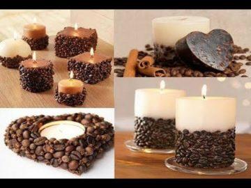 Поделки из кофейных зерен: фото и видео применения оригинальных поделок