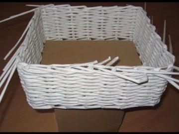 Плетение из бумаги пошагово для начинающих: фото инструкции с описанием технологии