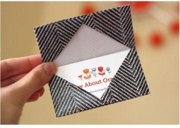 Как сделать конверт из листа А4 своими руками: мастер-классы