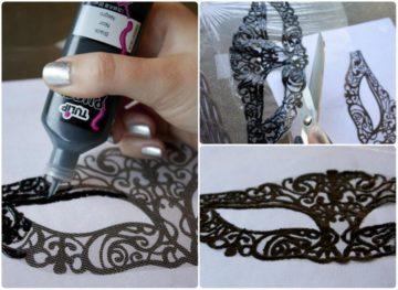 Как сделать и украсить карнавальную маску своими руками: методы и мастер-классы