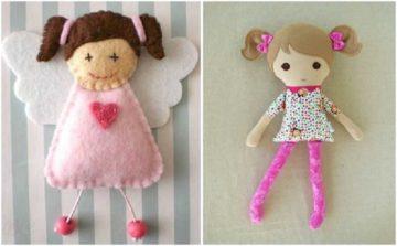 Выкройки кукол для начинающих поэтапно, тряпичные куклы
