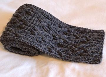 Мужской шарф спицами: схемы с описаниями интересных вариантов