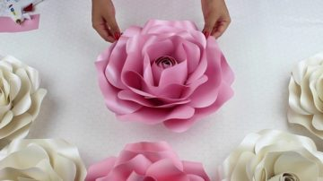 Как сделать розу из бумаги, легко и быстро делаем бумажную розу своими руками