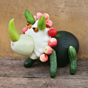 Поделки из овощей и фруктов своими руками для выставки — самые красивые осенние поделки в детский сад и в школу