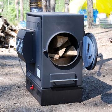 Электрогенератор на дровах: принцип работы на твердом топливе, процесс изготовления своими руками