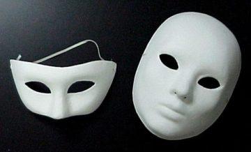 Как сделать маску из бумаги — фото и видео как своими руками изготовить маску