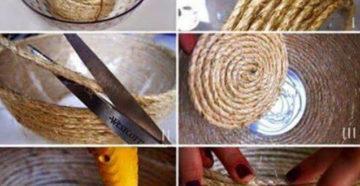 Поделки из шпагата — оригинальные идеи интересных поделок и особенности применения шпагата