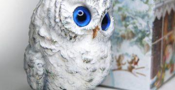 Поделка сова своими руками — фото идеи поделки из природного материала