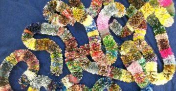 Поделки из фантиков от конфет — подборка пошаговых мастер-классов