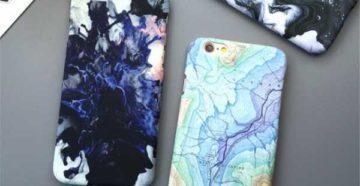 Роспись чехла для телефона своими руками красками и лаком