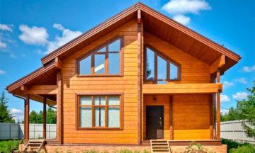 Причины популярности домов из профилированного бруса