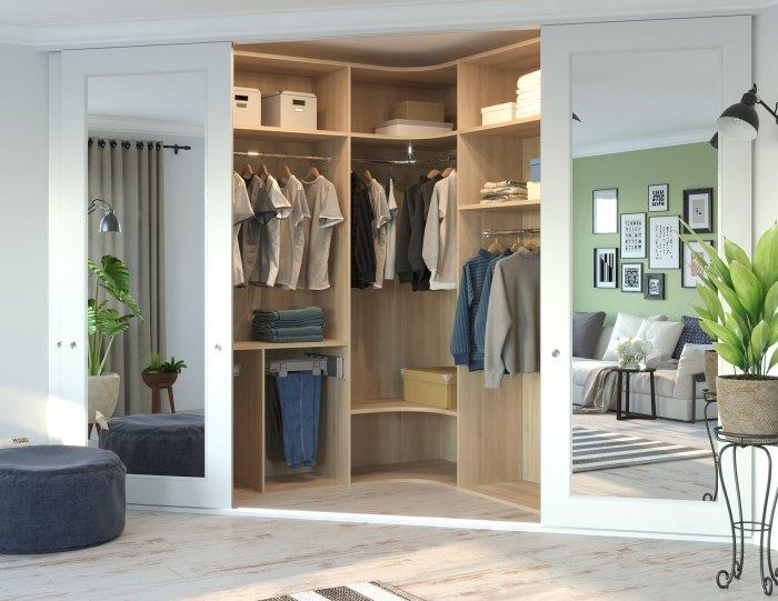 Как оформить гардеробную комнату небольшого размера? Идеи и советы по интерьеру